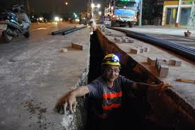Road digging to lay cables pipes are major cause of damage to roads.jpg