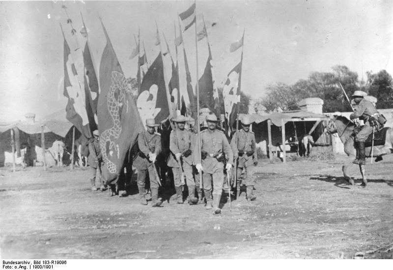 Captured Chinese flags.jpg