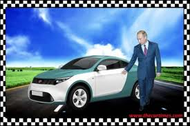 The High Tech E-Mobil was just launched a few days ago by Mr. Putin.jpg