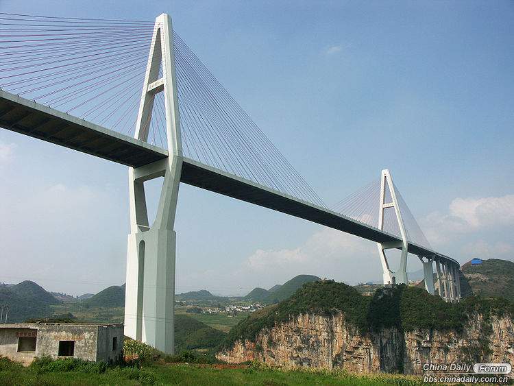1.  Maling He - 241 meters high - 360 m span - opened in 2011.jpg