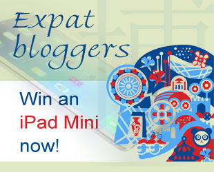 Expat bloggers,  time to win an iPad Mini