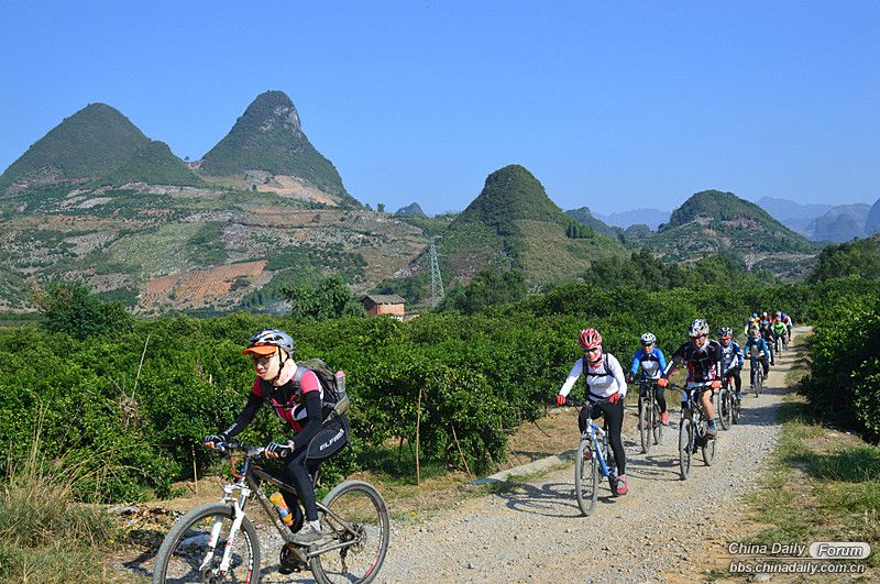 Cycling in Guilin and Yangshuo