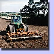 Tractor ploughing saves manpower.jpg